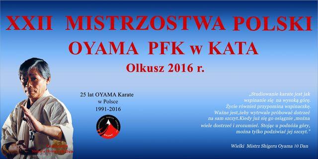 BANER XXII MP Olkusz 2016 r.